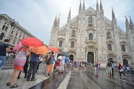 Milano : torna la pioggia