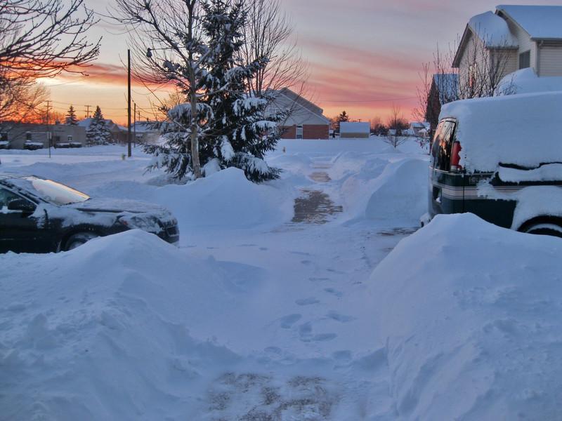Neve in Michigan