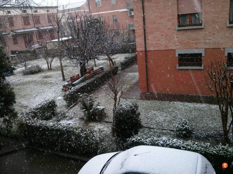 Emilia Romagna: nevicate fin sulle coste, ecco foto e previsioni meteo