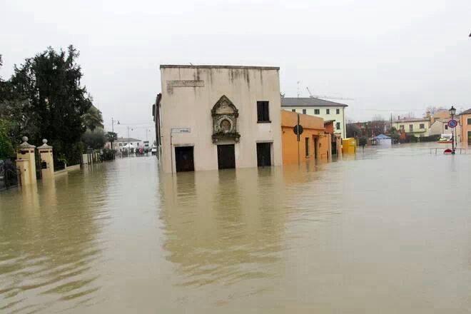 Inondata Battaglia Terme, nel padovano - Foto di Elia Adami