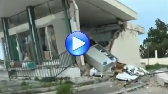 Terremoto Cefalonia : isola distrutta dal sisma
