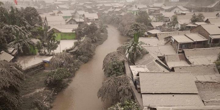 Eruzione Vulcano Kelud, in Indonesia