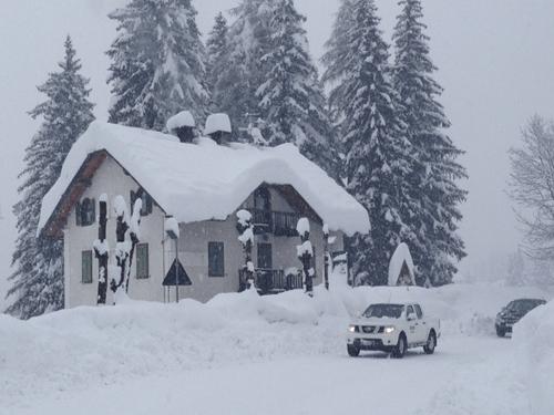 Tantissima neve sulle Dolomiti