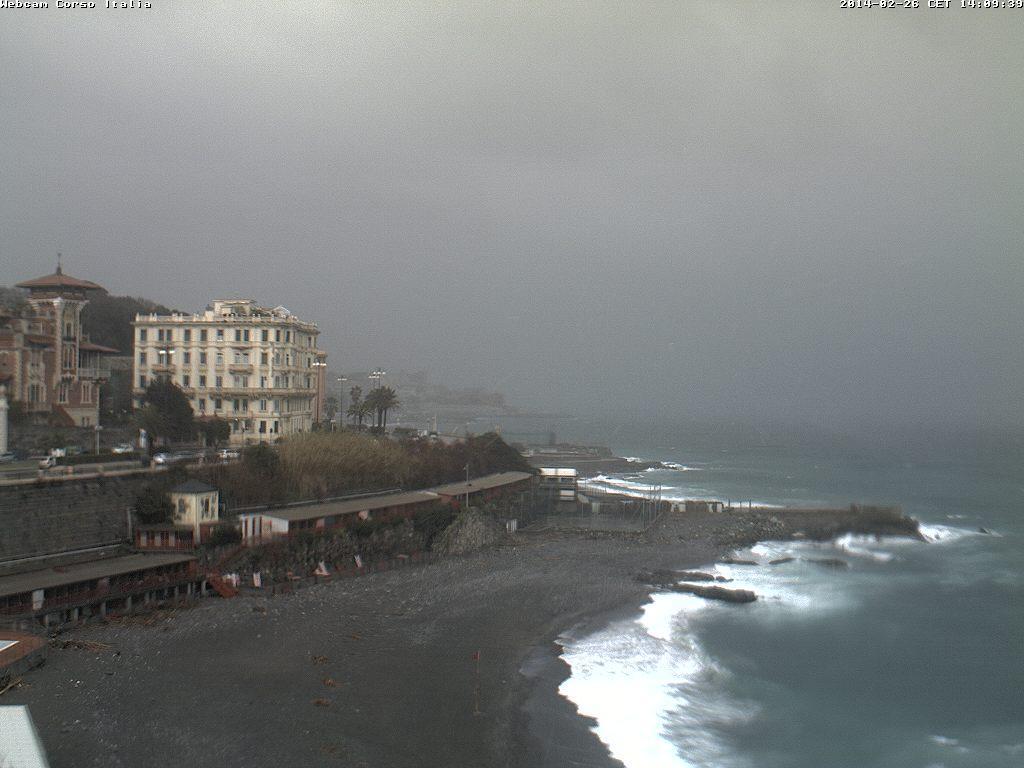 Temporale su Genova: segnalata anche grandine - 26 Febbraio 2014