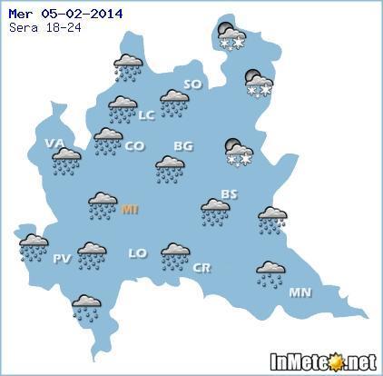 Maltempo Lombardia, Milano: forti piogge in atto, vediamo le previsioni meteo
