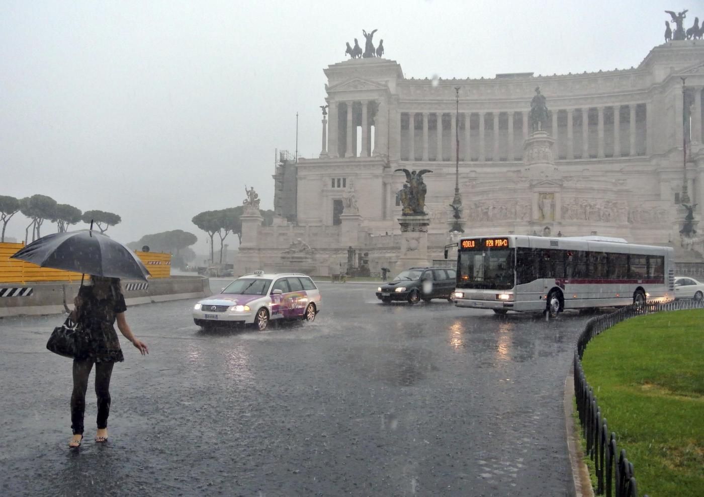 Previsioni meteo Roma: ecco che torna il maltempo sulla capitale