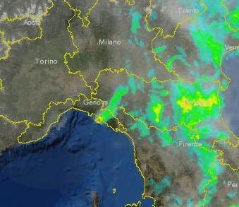 Grandinata Sestri Levante: una tempesta di ghiaccio si abbatte nel genovese, le immagini