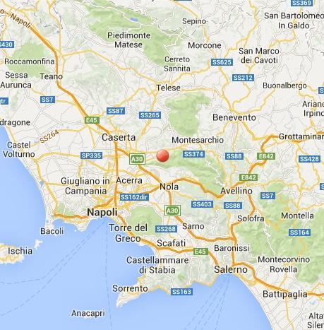 Terremoto Campania oggi 27 Febbraio: scossa vicino Napoli, Nola
