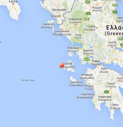 Terremoto oggi in Grecia: l'area colpita dal terremoto