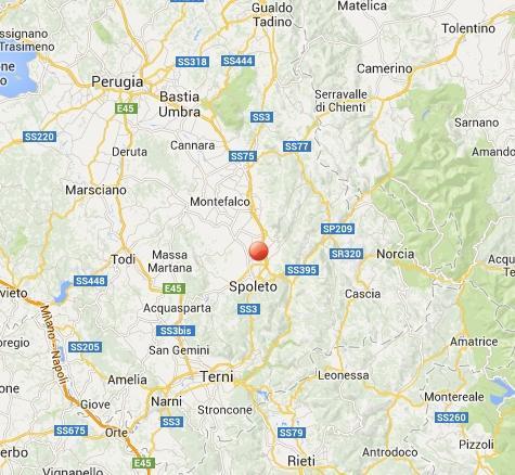 Terremoto Spoleto-Foligno oggi: sequenza sismica in atto in Umbria, aggiornamenti in tempo reale