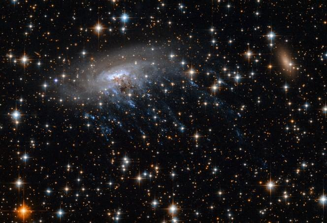 Video e immagini straordinarie: ripresa galassia a forma di medusa