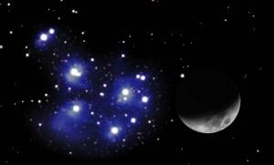 Congiunzione Luna Pleiadi: spettacolo nei cieli in arrivo il 3 Aprile 2014