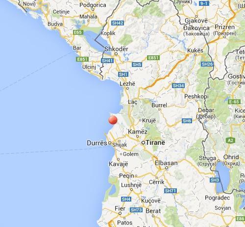 Terremoto Albania oggi: numerose scosse nel basso Adriatico