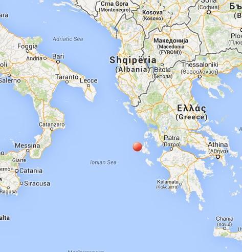 Terremoto Grecia oggi 5 Marzo