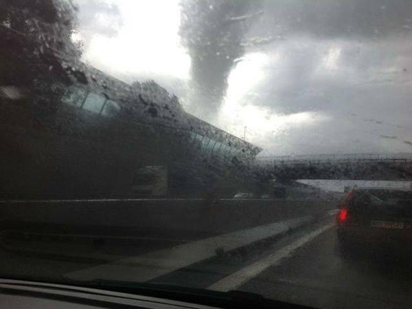 Tornado a Prevalle, foto di Daniele Cioffi