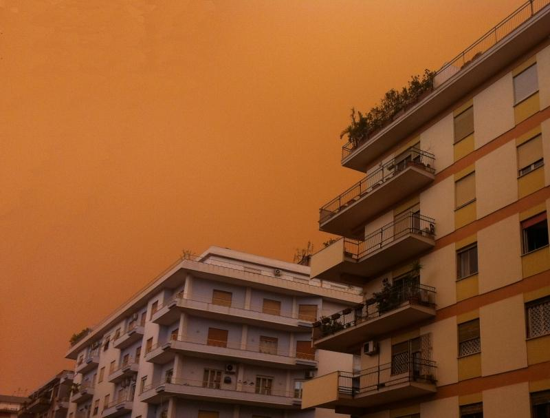 Previsioni meteo Roma: maltempo e sabbia desertica in arrivo