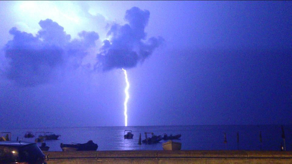 Allerta meteo Sicilia: forti venti e burrasca, poi anche piogge e temporali