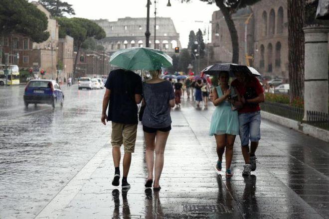 Previsioni Meteo Roma: arriva il maltempo sulla città laziale
