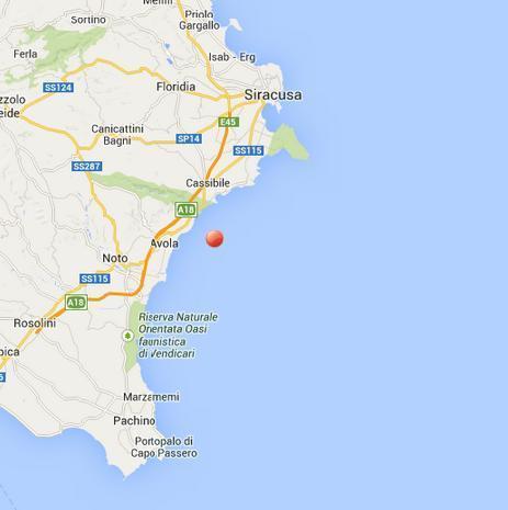 Cartina Noto Sicilia.Sicilia Lieve Terremoto Avvertito Fra Siracusa Cassibile Avola E Noto Mappa E Dati