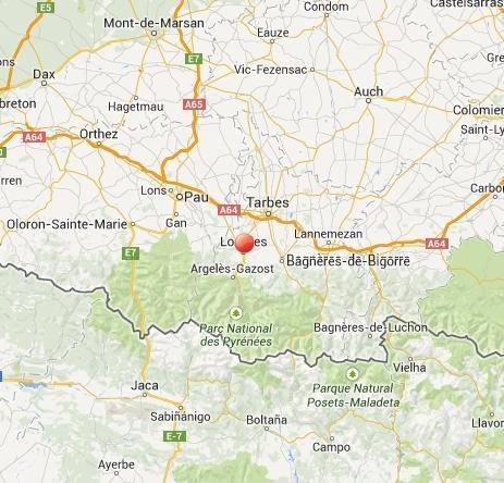 Terremoto a Lourdes, in Francia - oggi 29 Aprile 2014
