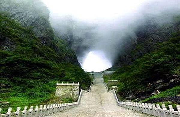 La strepitosa Porta del Paradiso in Cina : foto e video