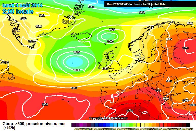 Agosto: esordio tra caldo ed instabilità