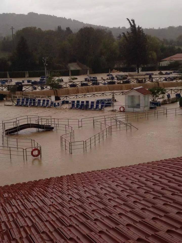 Alluvione Toscana, Grosseto