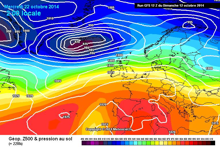 Ottobre, terza decade: alta pressione o Atlantico?