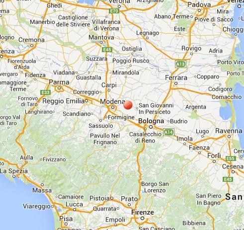 Terremoto oggi 5 ottobre scossa nel cuore dell 39 emilia romagna for Oggi in romagna