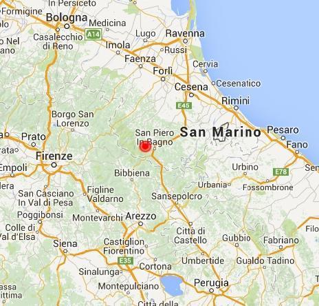 Terremoto emilia romagna scossa a bagno di romagna - Bagno di romagna provincia ...