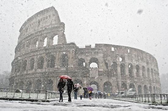 Neve anche a Roma e Napoli ad inizio settimana? Analisi e possibilità