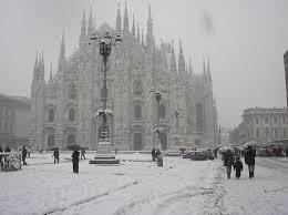Previsioni meteo Milano: freddo e neve  in arrivo