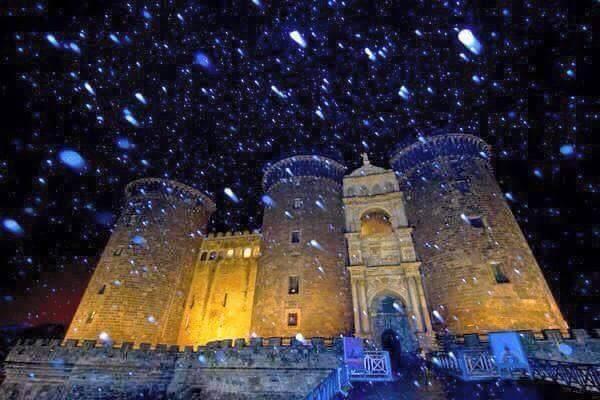 Neve a Napoli e Salerno - Fonte Facebook