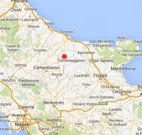 Cartina Puglia E Molise.Terremoto Fra Molise E Puglia Avvertito A Campobasso Termoli Foggia