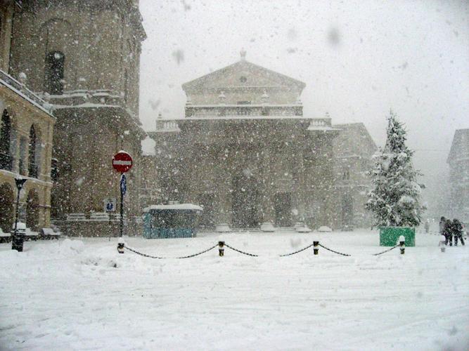 Neve e freddo in arrivo lungo le adriatiche: a che quote cadrà la neve?