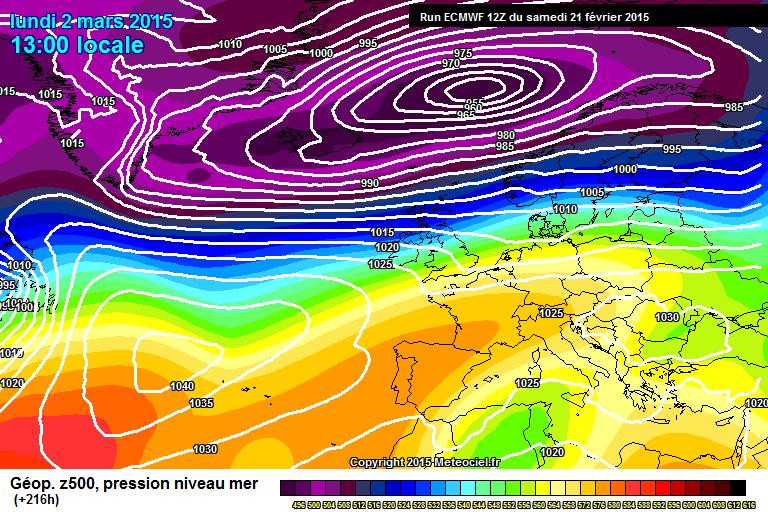 Marzo: Alta pressione o instabilità? Prima decade di Marzo in bilico tra instabilità e bel tempo