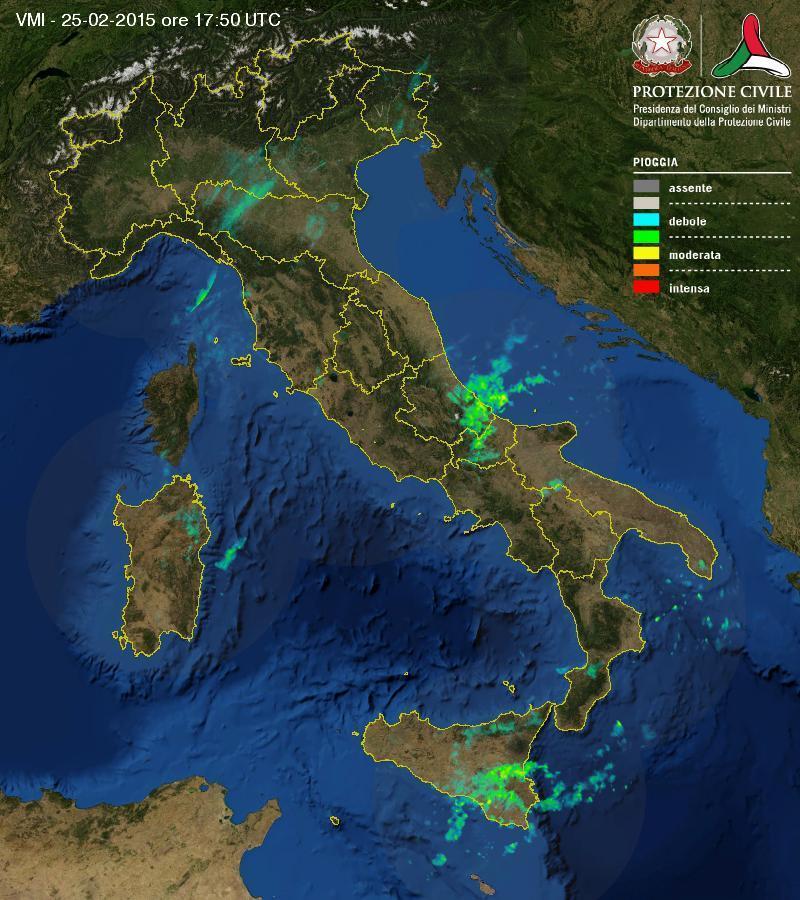 Situazione meteo in atto: piove su diverse zone, come evolverà?
