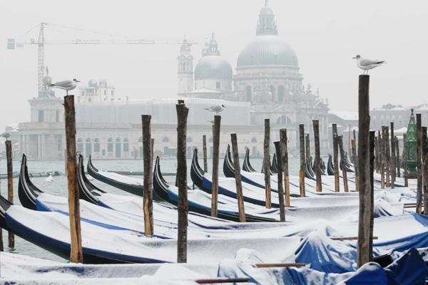 Previsioni meteo Venezia: arriverà la neve