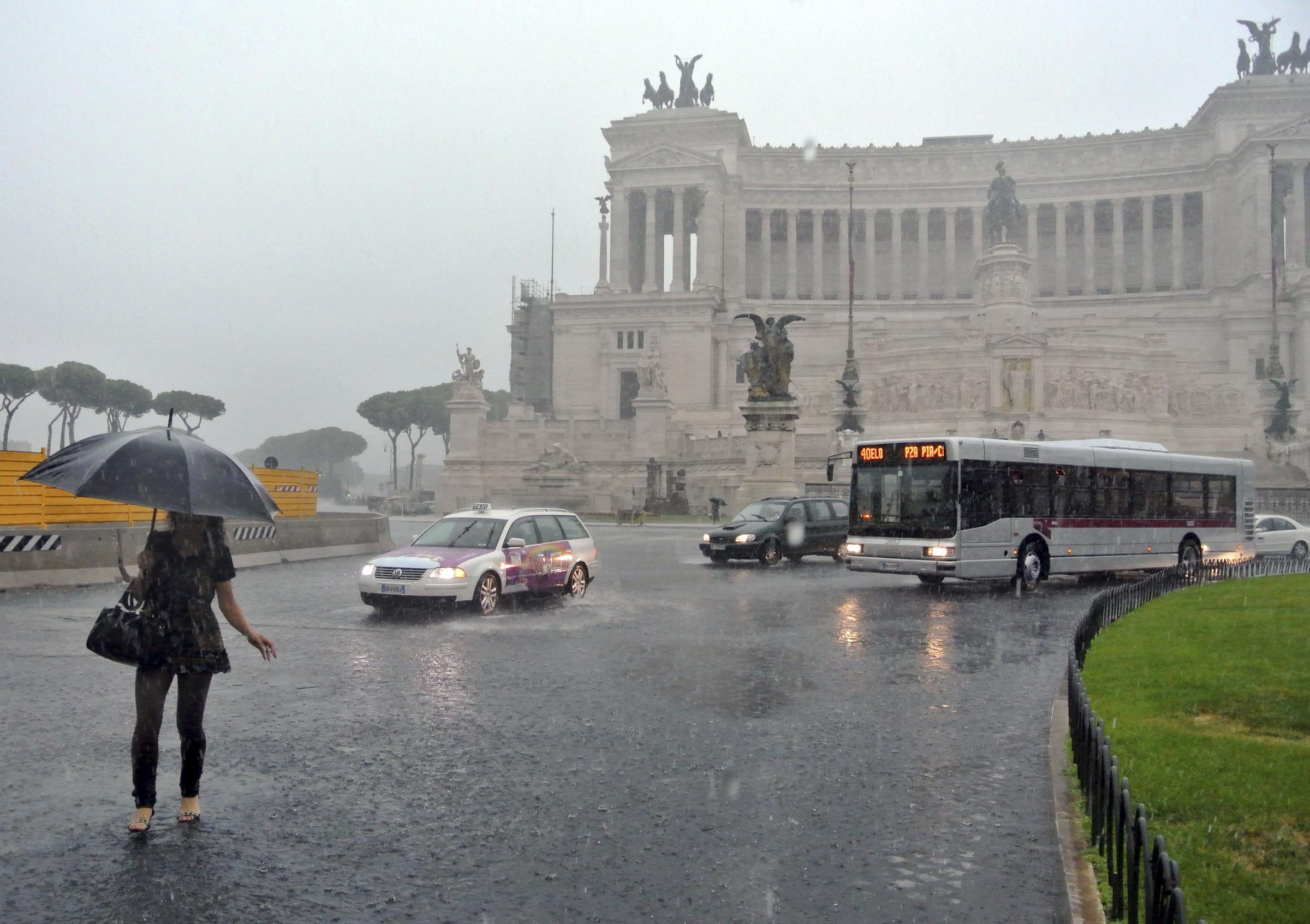 Previsioni meteo Roma: maltempo in giornata, domani migliora