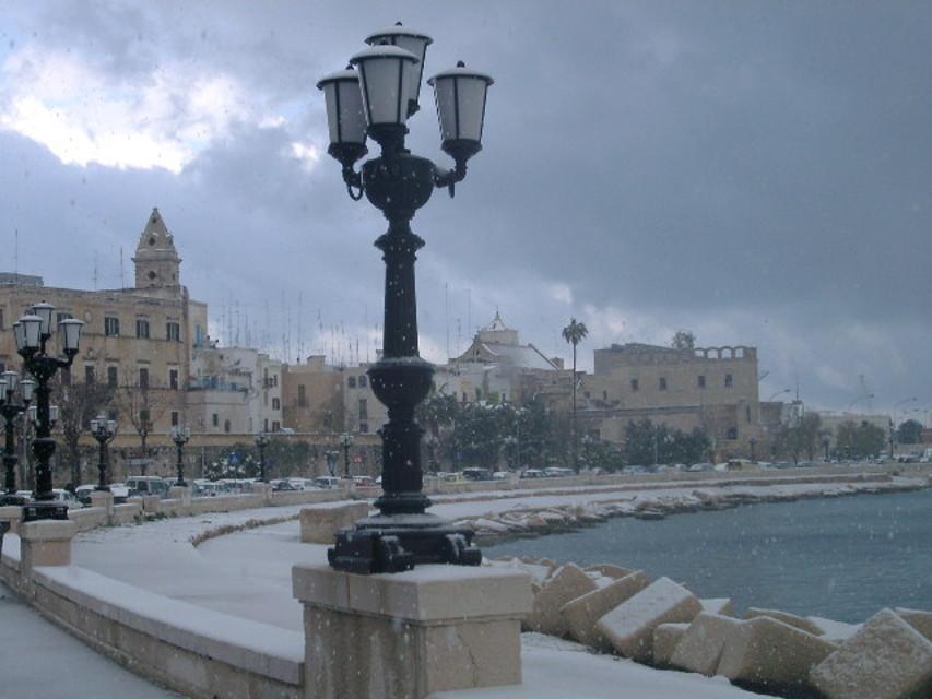 Previsioni meteo Puglia: freddo e neve