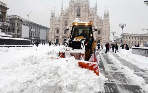 Previsioni meteo Milano: attese copiose nevicate