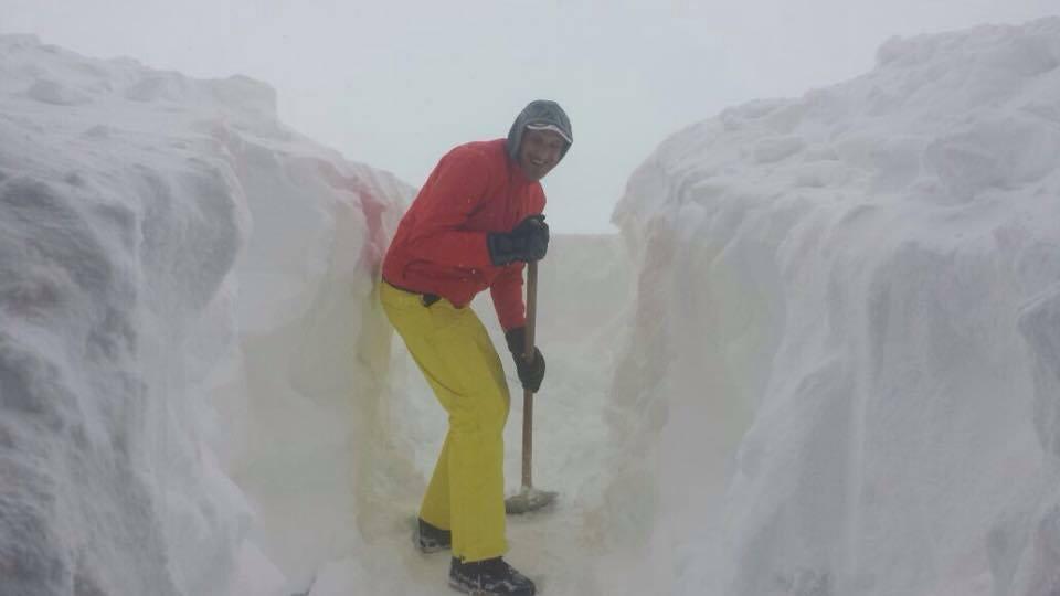 Copiose nevicate hanno interessato l'Appenino centrale