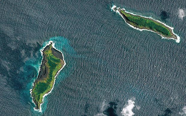 Eruzione crea una nuova isola nel Pacifico