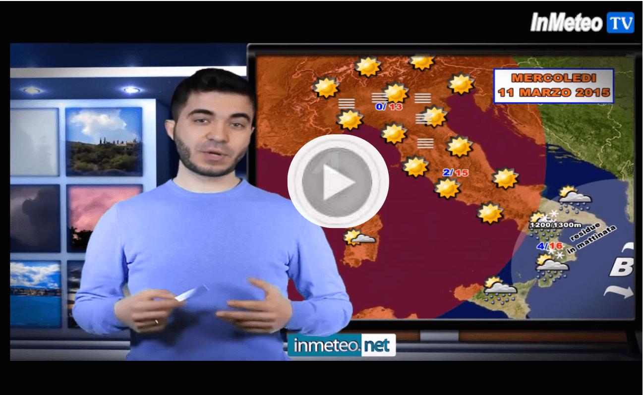 Previsioni meteo domani: residua instbilità al Sud, i dettagli