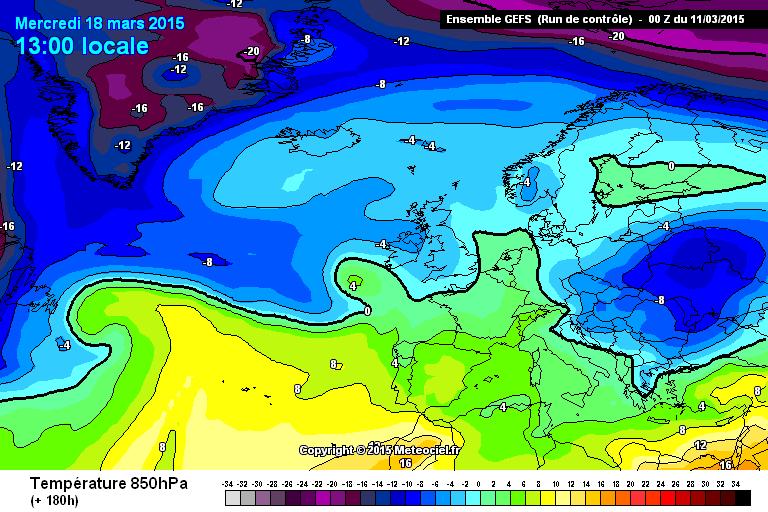 Meteo a lungo termiche: stabilità lontana dal Mediterraneo