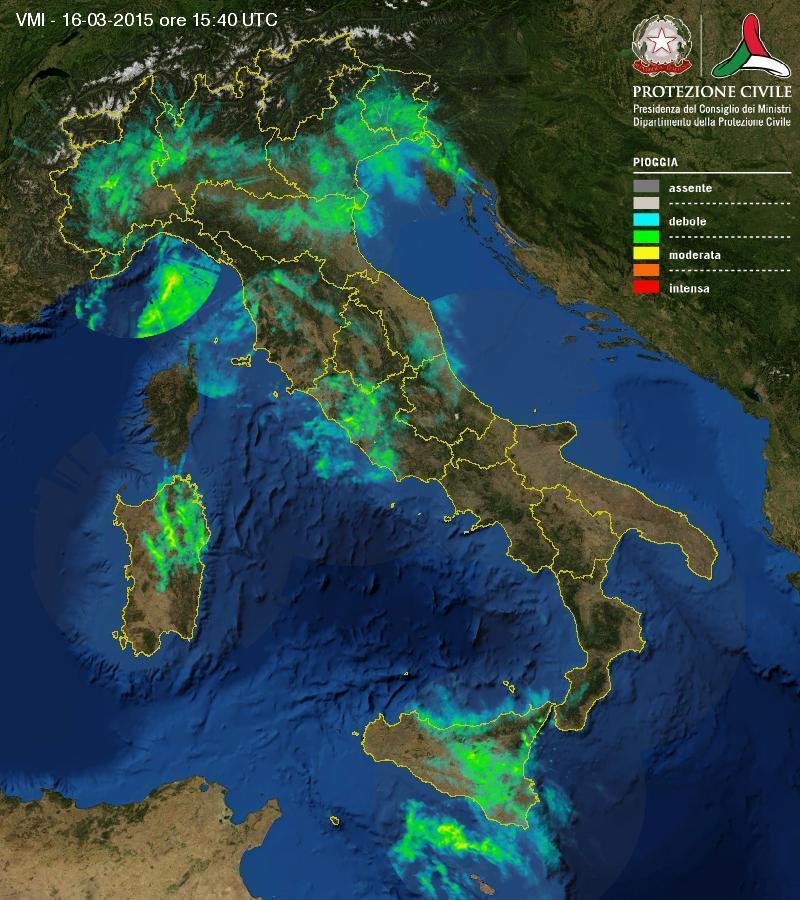 Situazione meteo in atto: maltempo diffuso, come evolverà