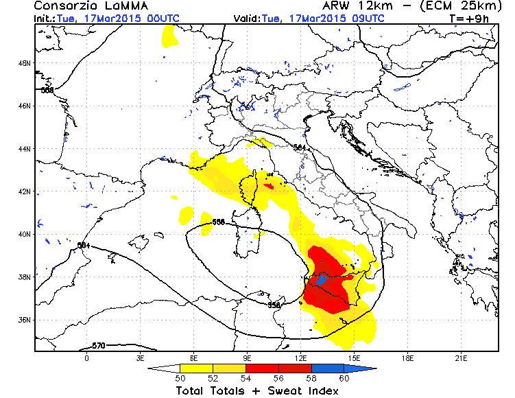 Maltempo Sicilia: forti temporali nelle prossime ore, i dettagli