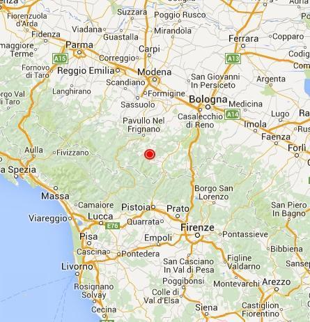 Terremoto emilia romagna oggi doppia scossa sull 39 appennino for Oggi in romagna