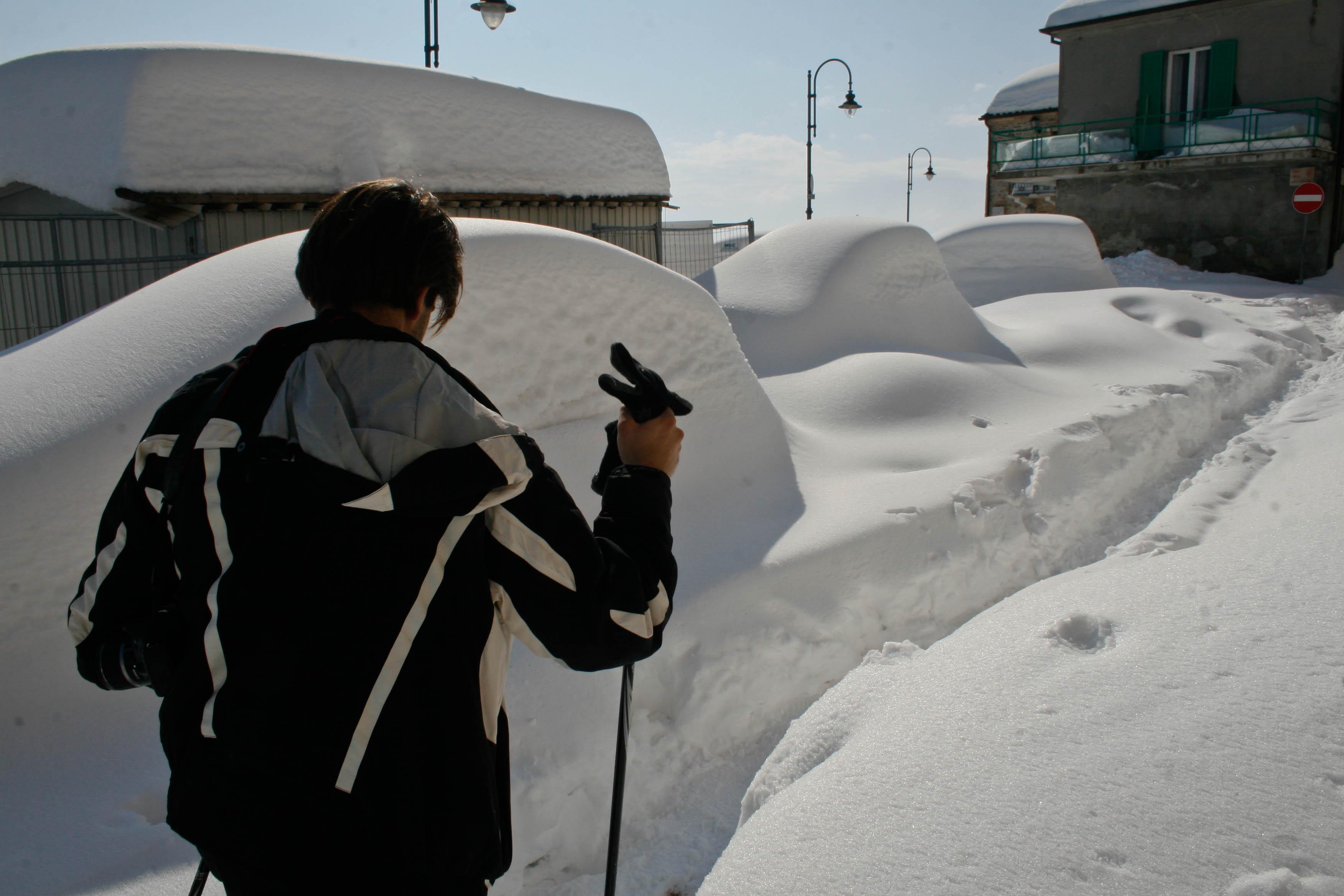 Amarcord 10 Febbraio 2012: genesi di una grande nevicata, le foto