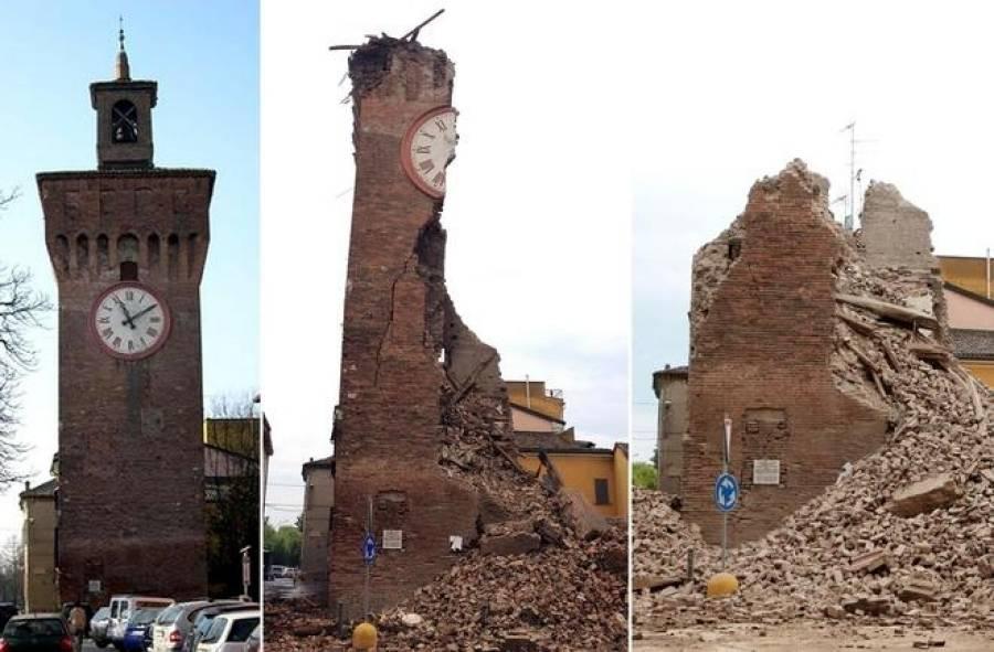 Oggi 4 anni dal devastante terremoto dell 39 emilia romagna for Oggi in romagna